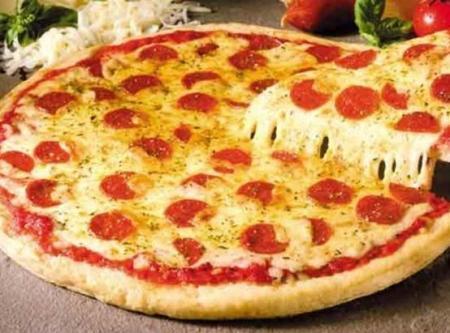 Veggie Pizza Clipart.