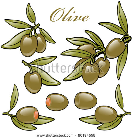 Stuffed Olive Isolated Stock Vectors & Vector Clip Art.