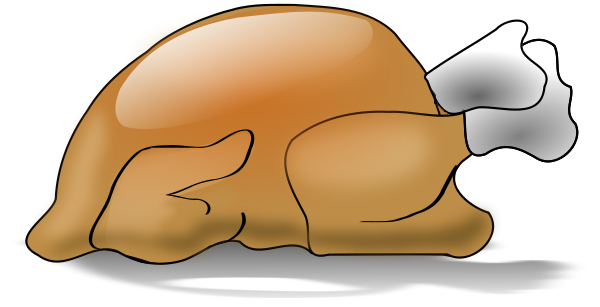 Free Baked Turkey Clipart, 1 page of Public Domain Clip Art.