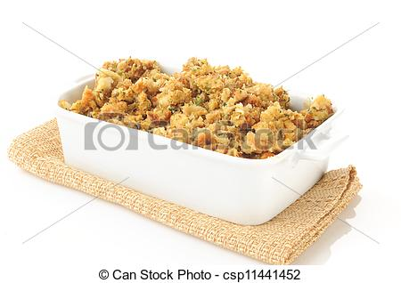 Stock Images of Turkey stuffing.
