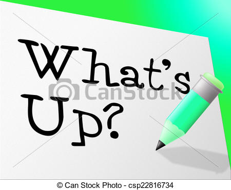 Drawings of Whats Up Indicates Stumbling Block And Difficulty.
