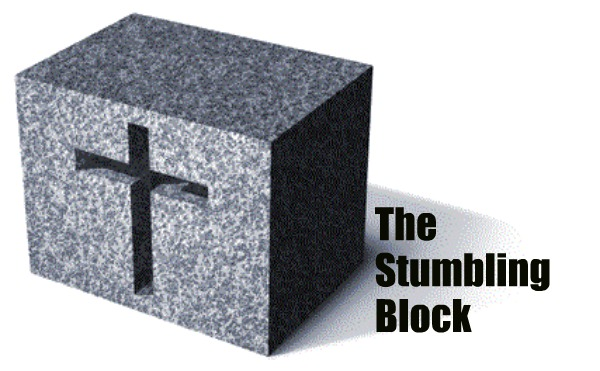 stumbling block.
