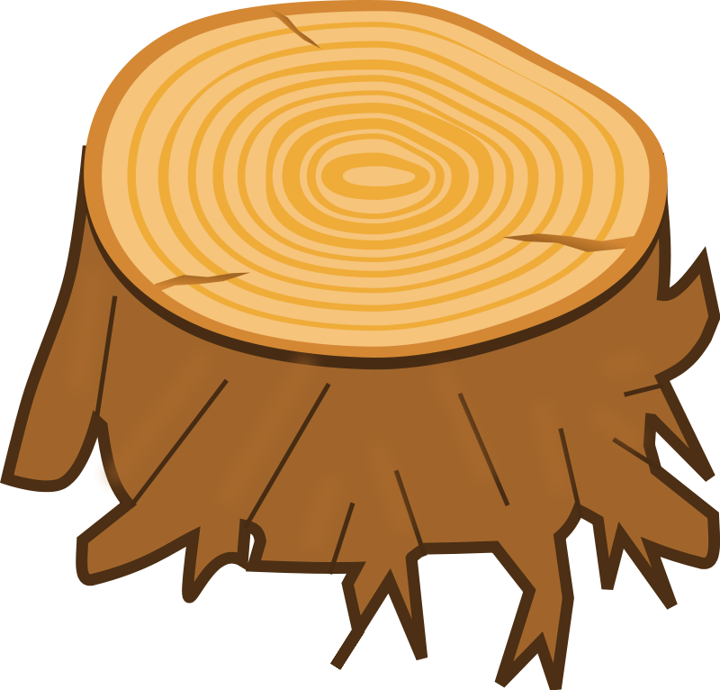 Tree Stump Clip Art.