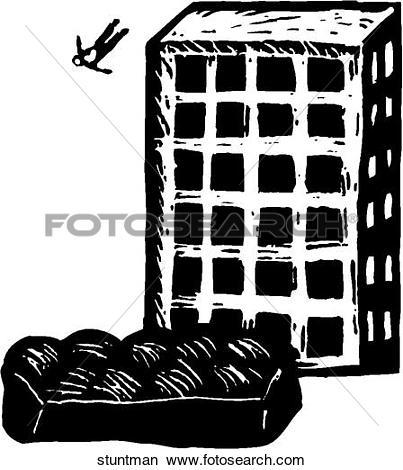 Clipart of Stuntman stuntman.