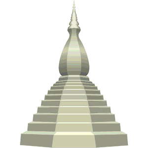 Stupa 3 clipart, cliparts of Stupa 3 free download (wmf, eps, emf.