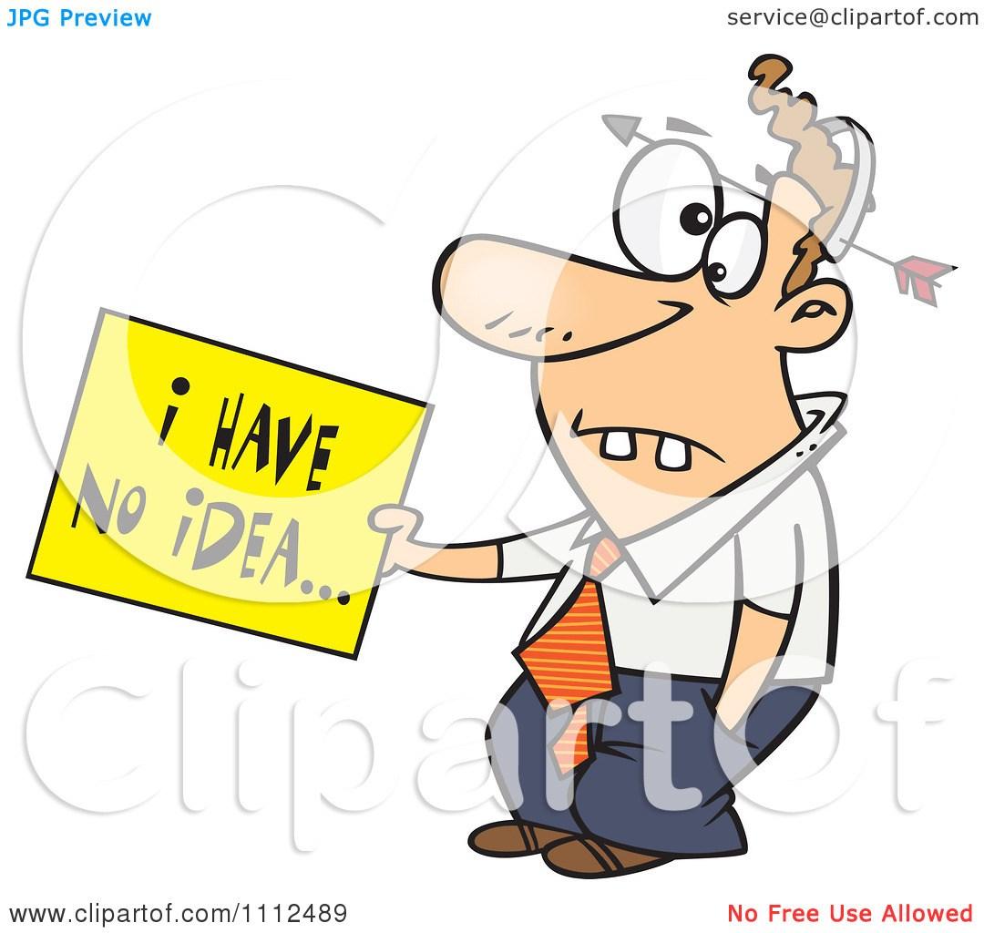 Dumb person clipart 4 » Clipart Portal.