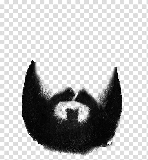 Beard transparent background PNG clipart.