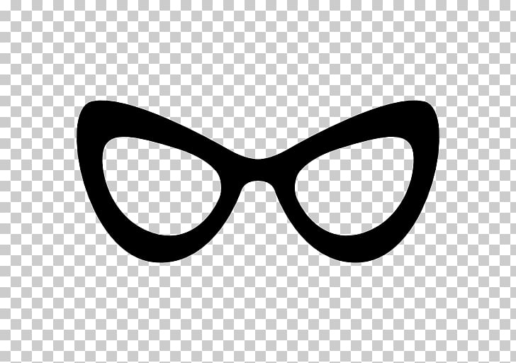 Cat eye glasses Monocle Computer Icons, stylish PNG clipart.