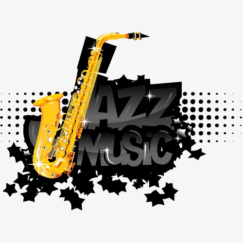 Stylish music logo PNG clipart.