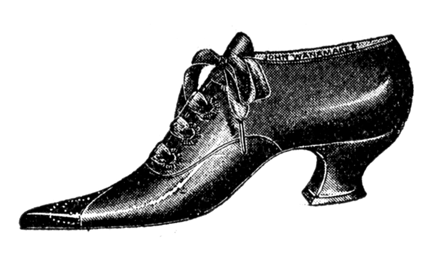 Free stylish mens shoe clipart clipart and vector image.