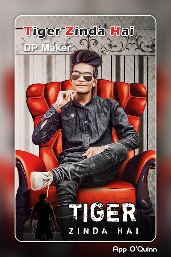 Tiger Zinda Hai DP Maker 1.2 apk.