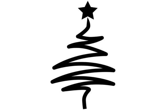 Modern / Stylized Christmas Tree.