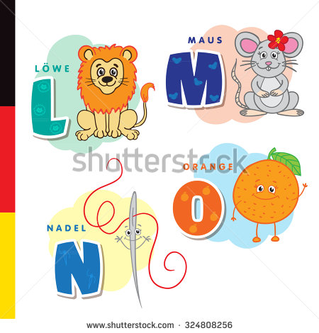 Germanic Alphabet Stock Photos, Royalty.