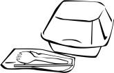 Styrofoam Clip Art and Menu Graphics.