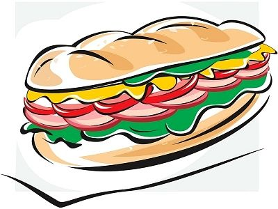 Sub Sandwich Clipart Cliparts.co.