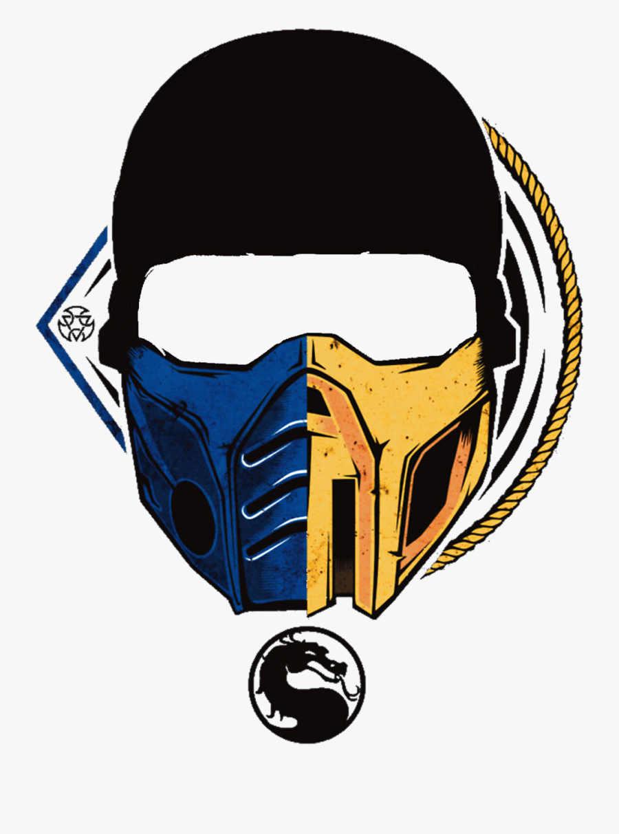 Mortal Kombat Scorpion Mask Photo Clipart , Png Download.