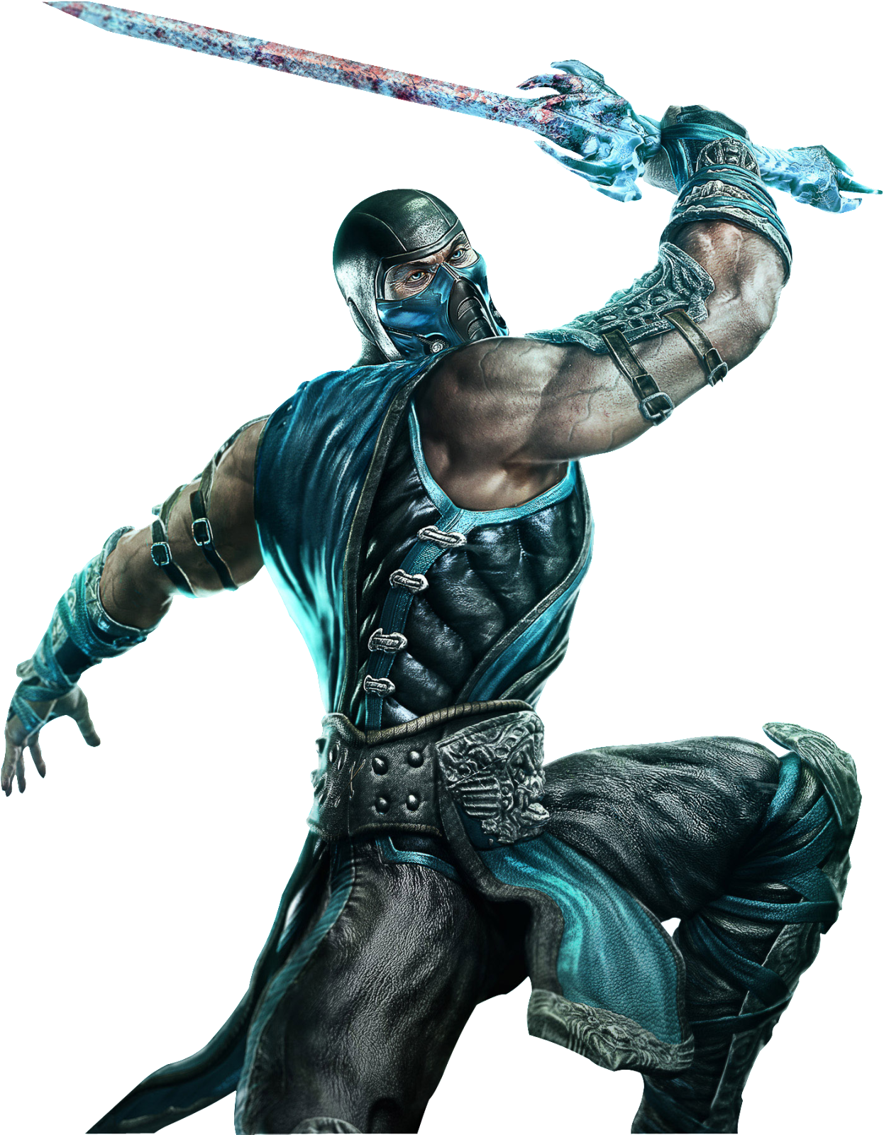 Download Mortal Kombat Sub Zero Transparent HQ PNG Image.