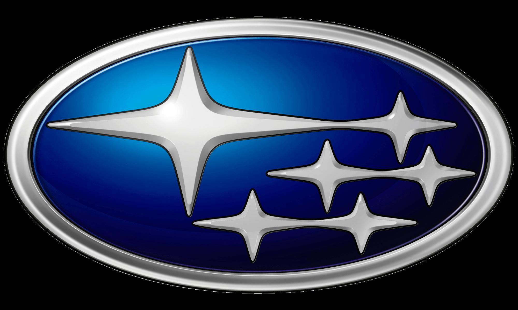 Subaru Logo transparent PNG.