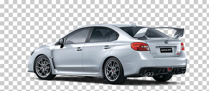 Subaru Wrx White, white sedan PNG clipart.