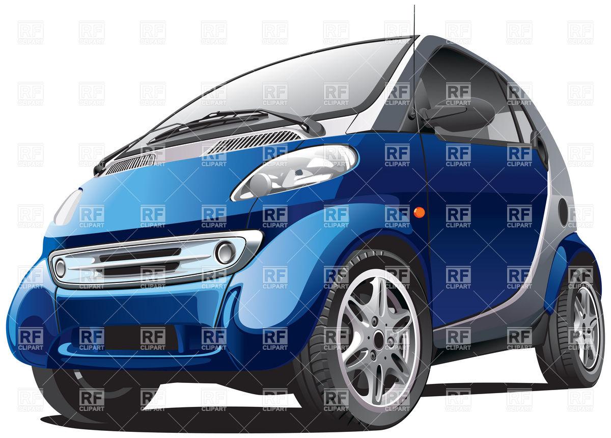 Smart subcompact economy car Vector Image #6164.