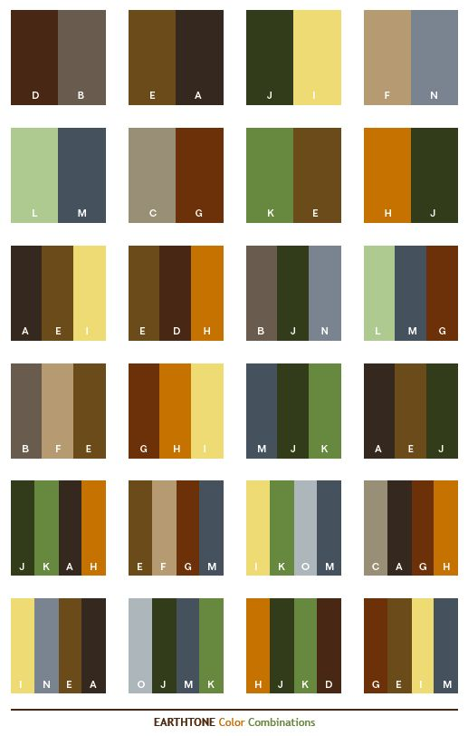 Subdued Earthy Colors Clipart Clipground