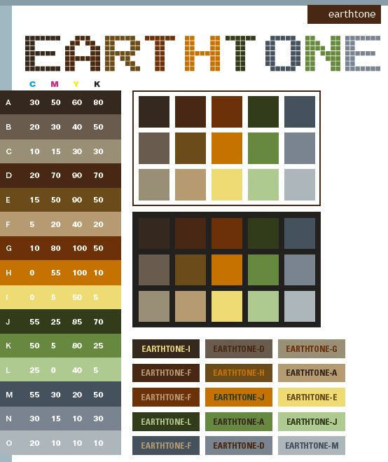Earth Tone Kitchen Colors: Subdued Earthy Colors Clipart