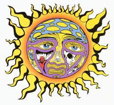 Sublime sun logo.