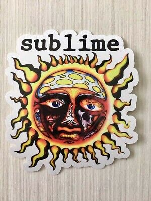 Sublime Sun Logo Laptop Window Car Bumper Vinyl Sticker Decal.