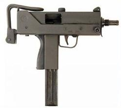 Free Submachine Gun Clipart.
