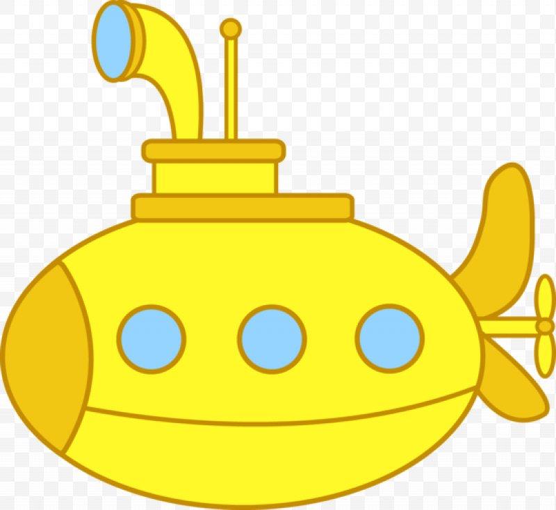 Yellow Submarine Clip Art, PNG, 550x505px, Submarine.