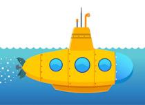 Free Submarine Clipart.