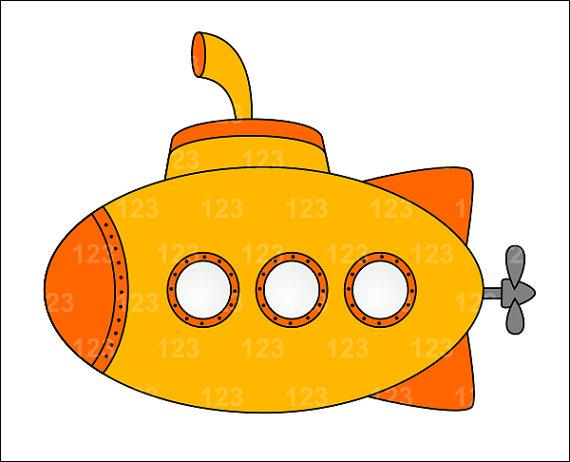 88+ Submarine Clip Art.