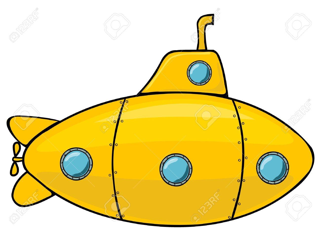 933 Submarine free clipart.