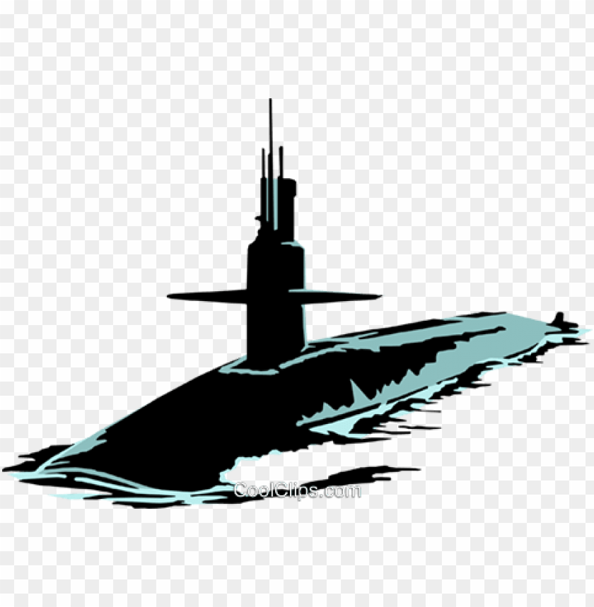 submarines royalty free vector clip art illustration.