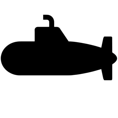 submarine vector eps.