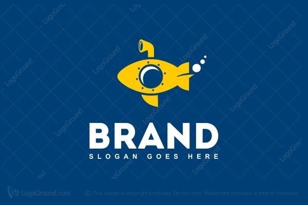 Exclusive Logo 11280, Yellow Submarine Logo.