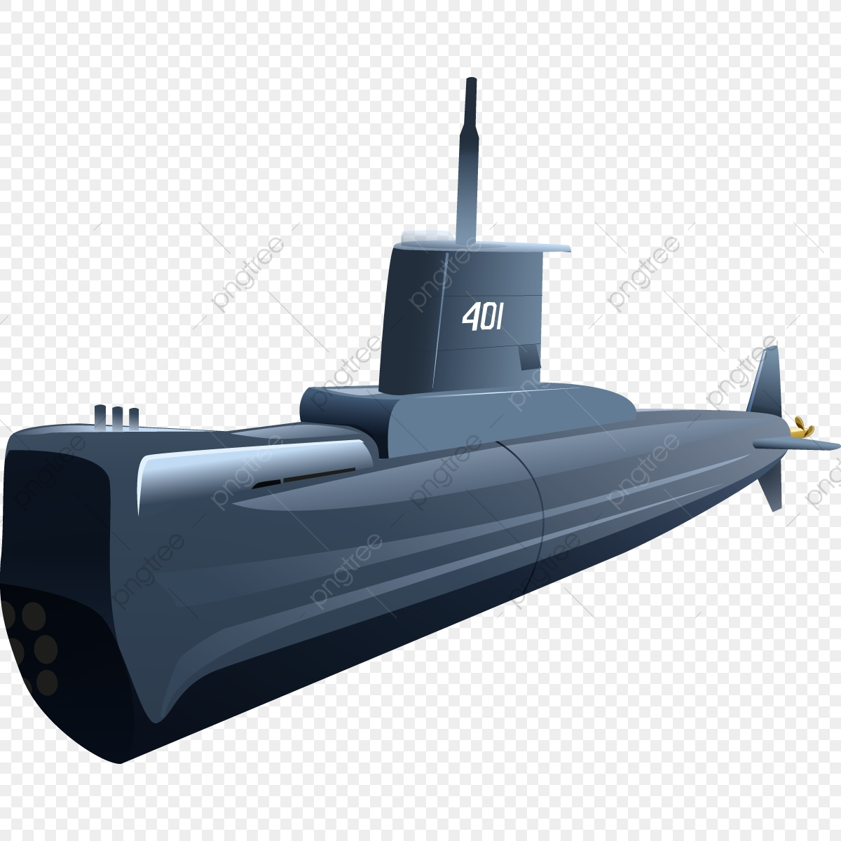 Submarine Vector, Infographic, Best PNG and Vector with.