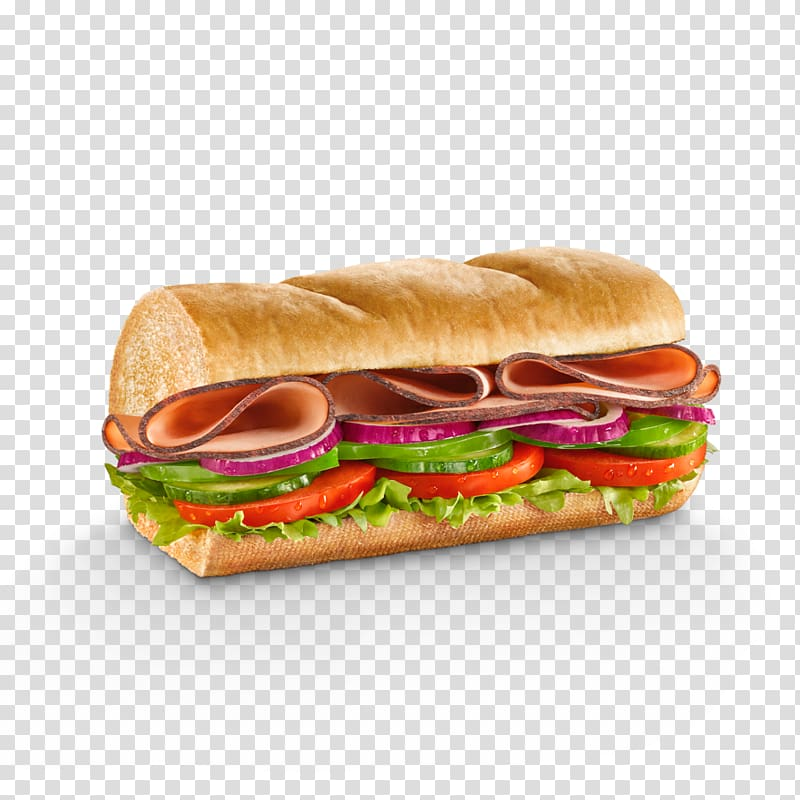 Ham and cheese sandwich Submarine sandwich Ham sandwich.