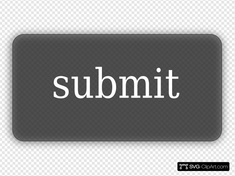 Simple Gray Submit Button Three Clip art, Icon and SVG.