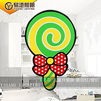 Subparagraph HUHU lollipop remote control switch led ceiling lamp.