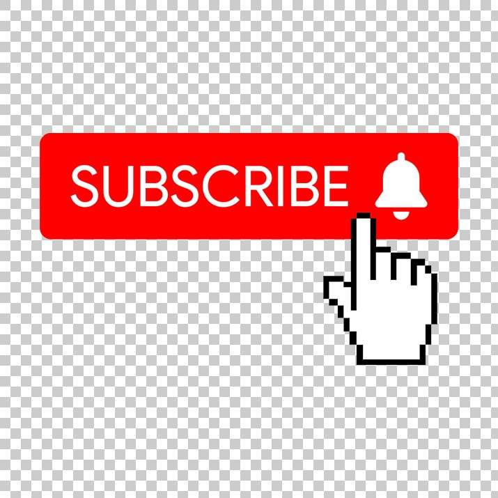 Flat Red Subscribe Button PNG image Free Download searchpng.com.