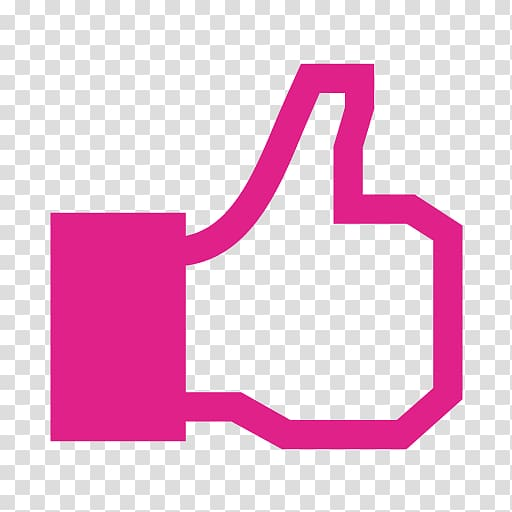 Pink like button, Facebook like button Computer Icons , Pink.