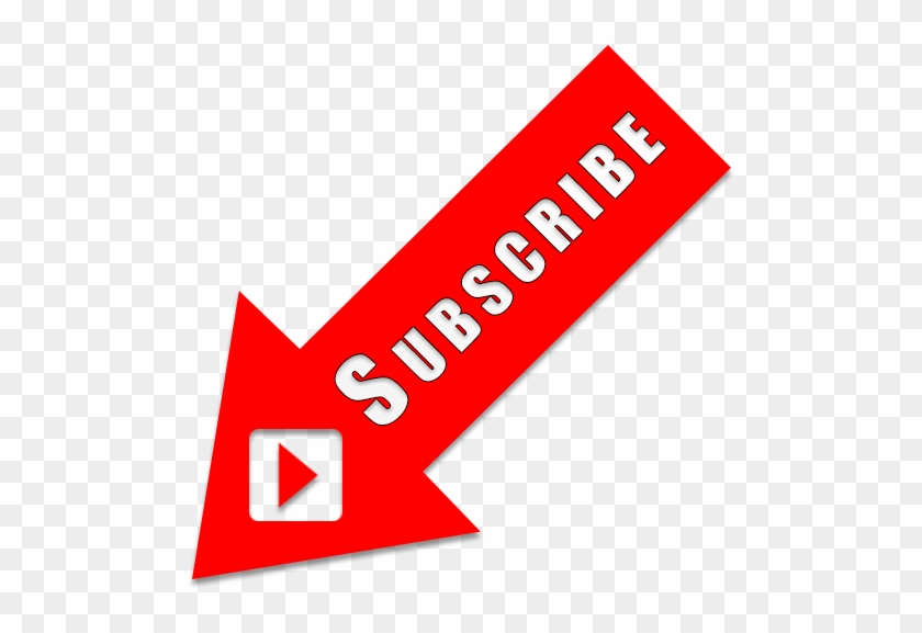 Youtube Subscribe Button Free Png Transparent Background.