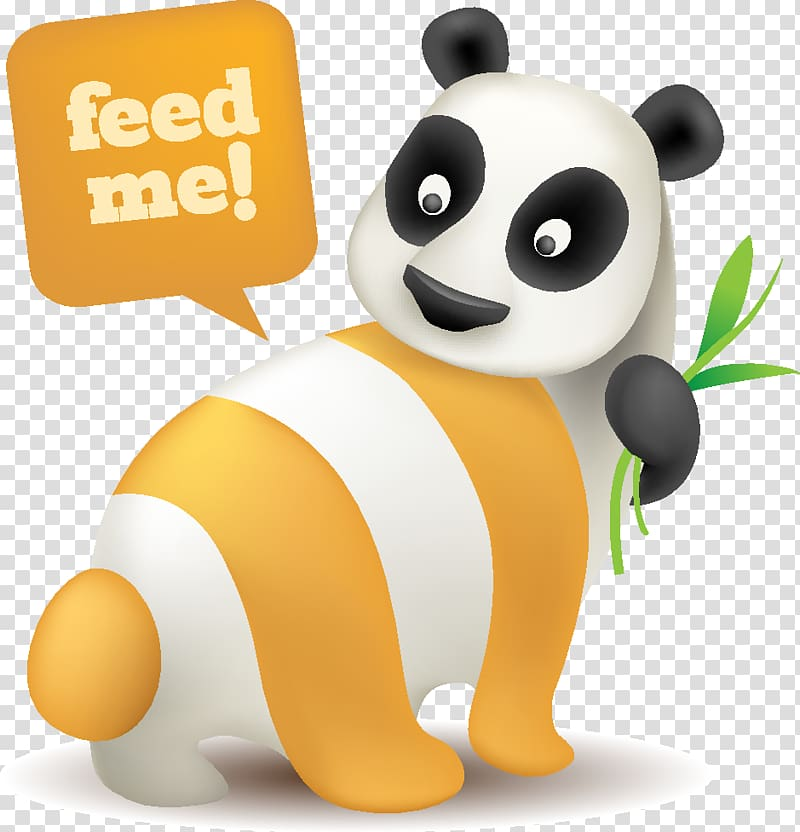 ICO Blog RSS Icon, Panda Cute animal theme subscribe to rss.