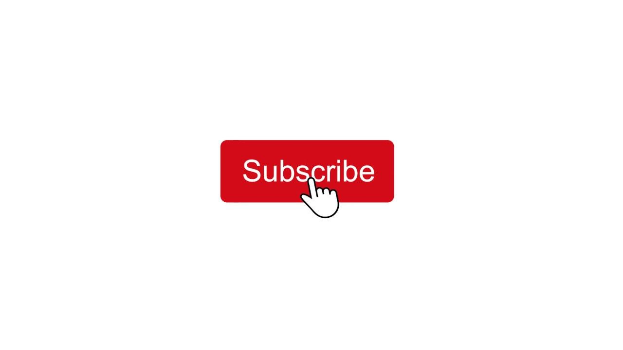 Youtube Subscribe Click Button animation.