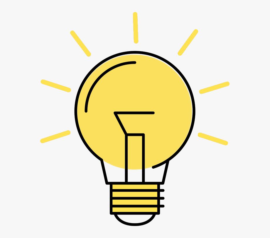 Idea Light Bulb Gif Download Clipart , Png Download.