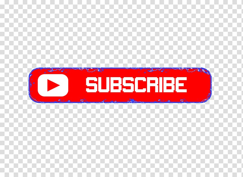 Logo YouTube Blog, Subscribe transparent background PNG.