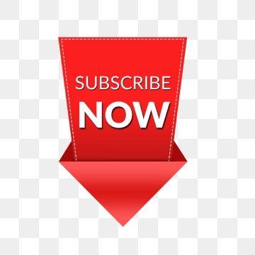 Youtube Subscribe Now Social Media Icon Button, Subscribe.
