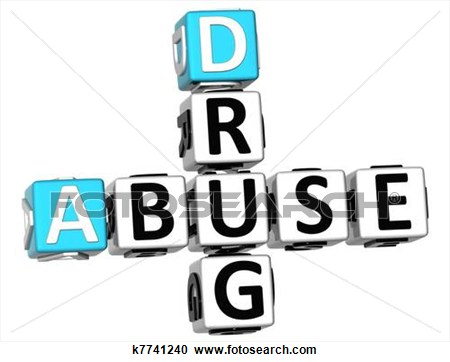 Substance abuse clipart.