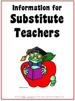 A Crucial Week: Substitute Teacher Information Pack.